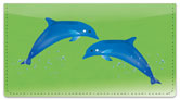 Dolphin Friends Checkbook Cover