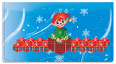 Christmas Elf Checkbook Cover