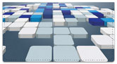 3D Blocks Checkbook Cover
