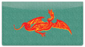 Ancient Dragon Checkbook Cover