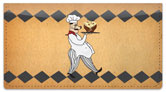 Whimsical Chef Checkbook Cover