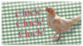 Chatty Chicken Checkbook Cover