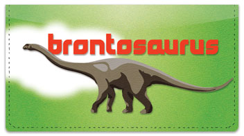 Dinosaur Species Checkbook Cover