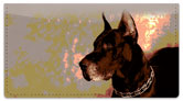 Dog Portrait Checkbook Cover