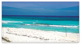 Caribbean Beach Checkbook Cover