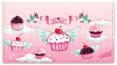 Cupcake Heaven Checkbook Covers