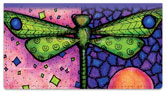 Dragonfly Art Checkbook Cover