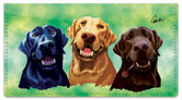 Labrador Retriever Checkbook Cover