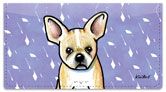 French Bulldog Checkbook Cover
