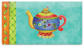 Zipkin Tea Checkbook Cover