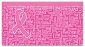 Reed Pink Ribbon Checkbook Cover