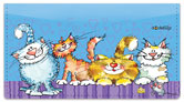 Cat-n-Mouse Checkbook Cover