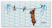 Dachshund Series Checkbook Cover