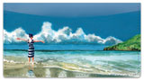 Meyer Beach Scene Checkbook Cover