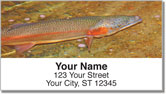 Trout Stream Address Labels