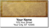 Brown Burlap Address Labels