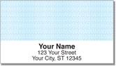 Classic Blue Address Labels