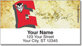 Green Bay East Music Address Labels