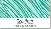 Colorful Animal Print Address Labels