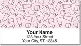 Girly Stuff Address Labels