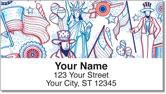 American Pride Address Labels