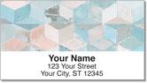 Painted Tile Address Labels