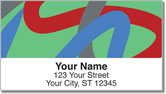 Paint Strokes Address Labels