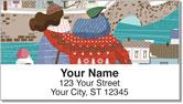 Winter Fun Address Labels