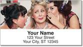 Beauty Shop Address Labels