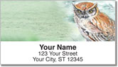 Bird Artwork Address Labels