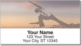 Yoga Address Labels