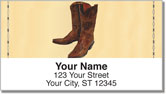 Classic Cowboy Address Labels