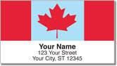 Canadian Pride Address Labels