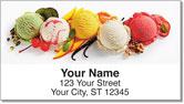 Ice Cream Address Labels