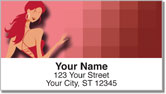 Sexy Vampire Address Labels
