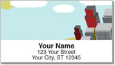 Cityscape Address Labels