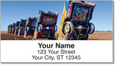 Route 66 Address Labels