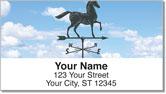 Weather Vane Address Labels