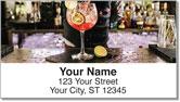 Cocktail Address Labels