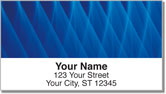 Colored Fiber Address Labels