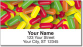 Sweet Candy Address Labels