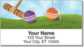 Croquet Address Labels