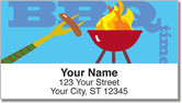 BBQ Grilling Address Labels