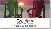 Adirondack Chair Address Labels