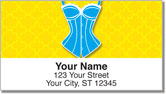 Cute Corset Address Labels