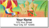 Sand Castle Address Labels