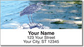 Blue Heron Address Labels