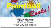 Paintball Address Labels