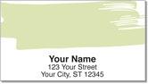 Paint Swatch Address Labels