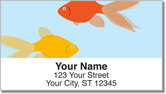 Goldfish Address Labels